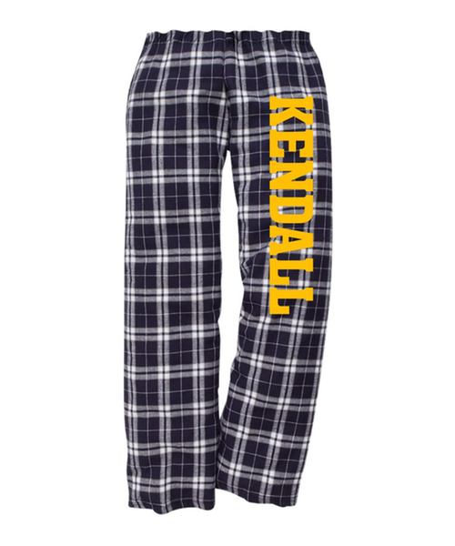 Kendall Elementary School Flannel Pant