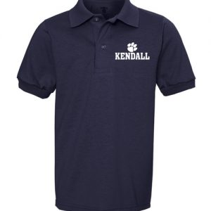 Youth Kendall Elementary School Polo Shirt